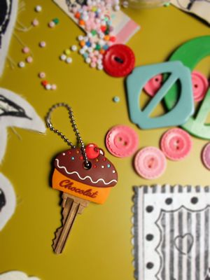 Cupcake Key Cover - All Things Cupcake