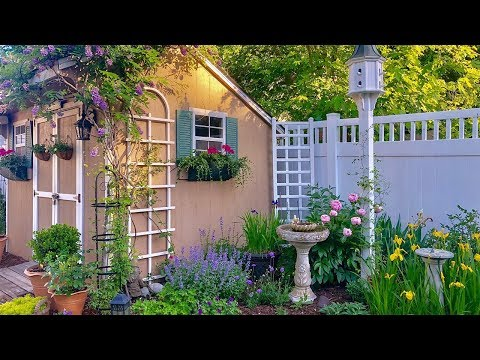 57 Southern New Jersey Small Yard Garden Tour Zone 7a Youtube
