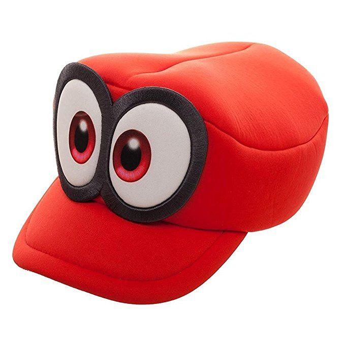 Super Mario Odyssey Cap Cosplay Mario Red Cap Adult Kids Handmade Mario Hat New