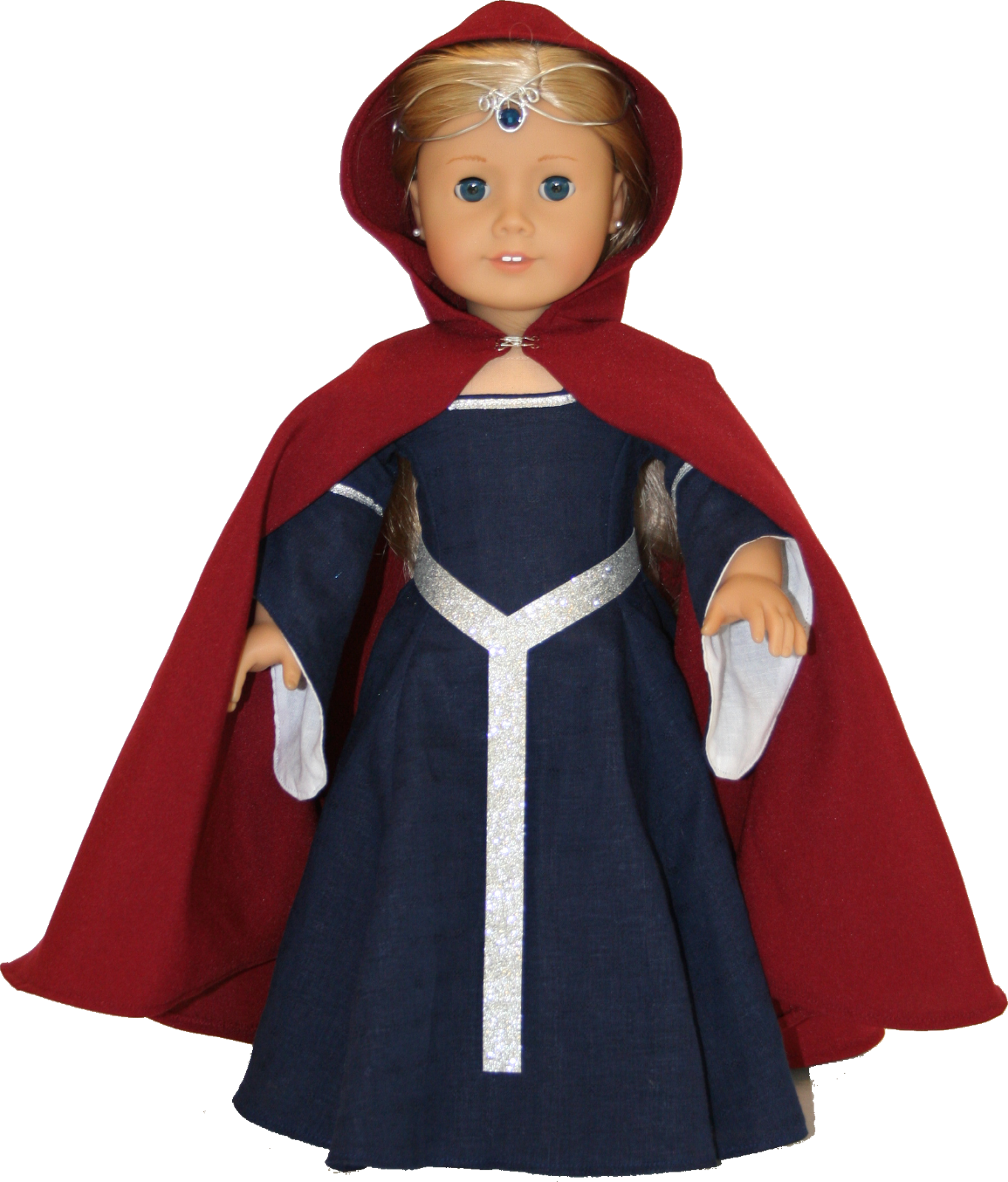 Arts and Crafts for your American Girl Doll: Medieval Cape for ...