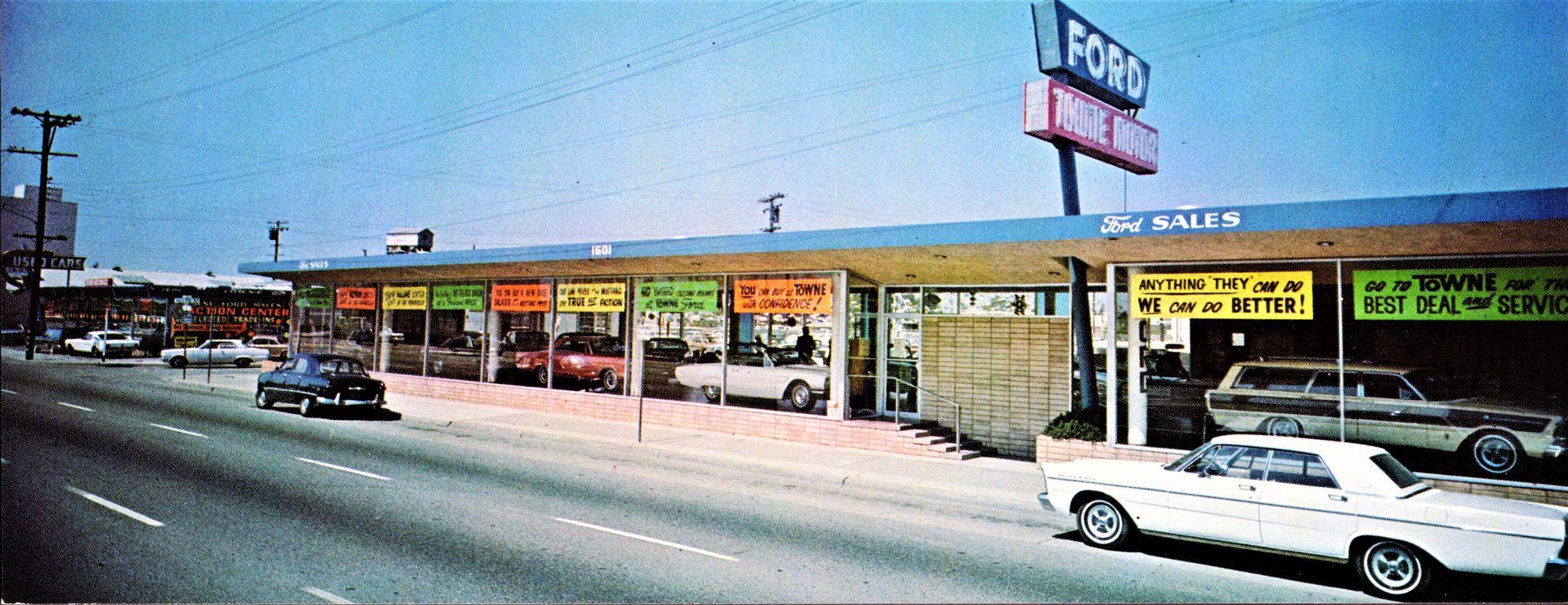 1965 Towne Ford Sales Dealership, Redwood City, California