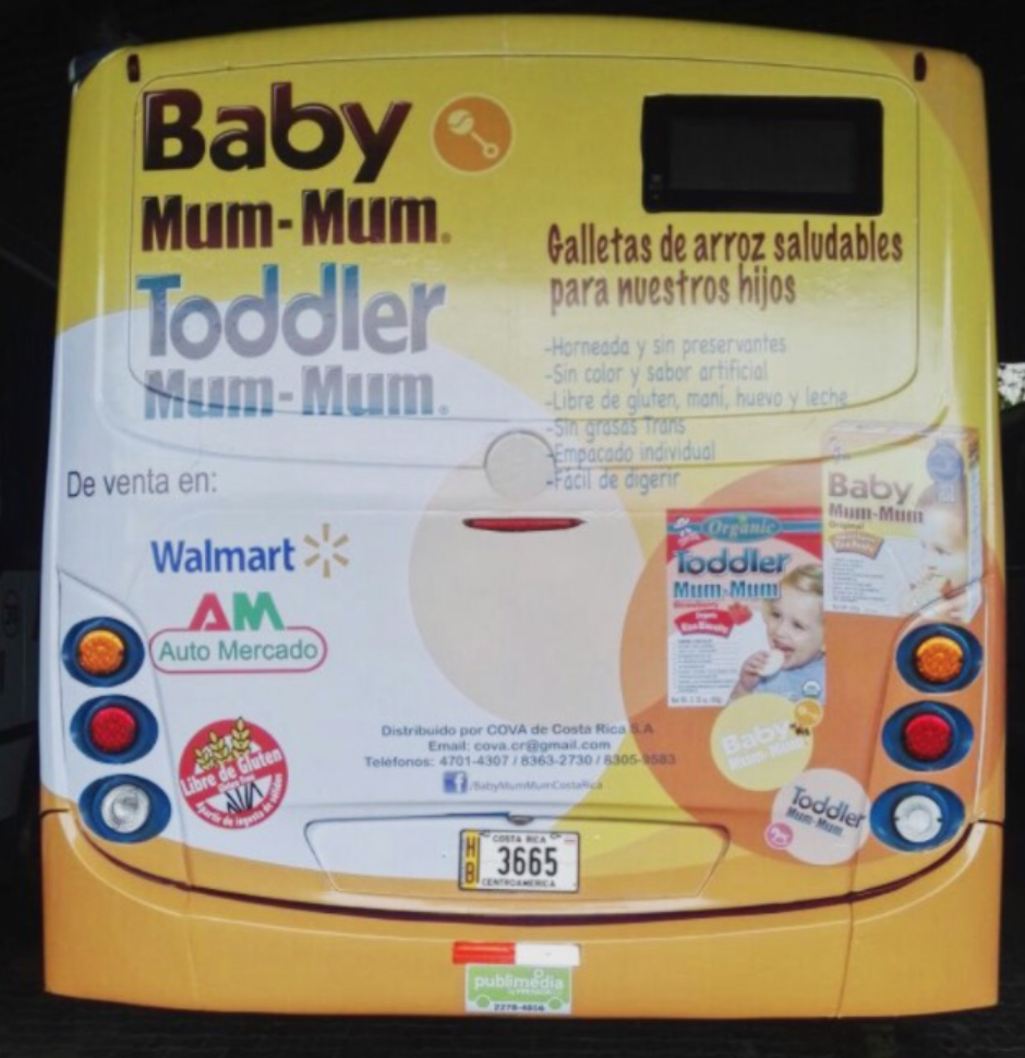 Hey look! Baby MumMum is an international brand. Here we