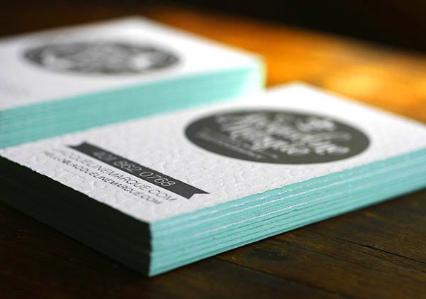 Crescent anchor letterpress business cards letterpresses crescent anchor letterpress business cards reheart Choice Image