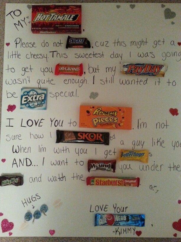 Joshs sweetest day present. Thank god he doesn't have pinterest :) #sweetestdaygiftsforboyfriend