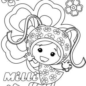 team umizoomi milli from team umizoomi coloring page milli from