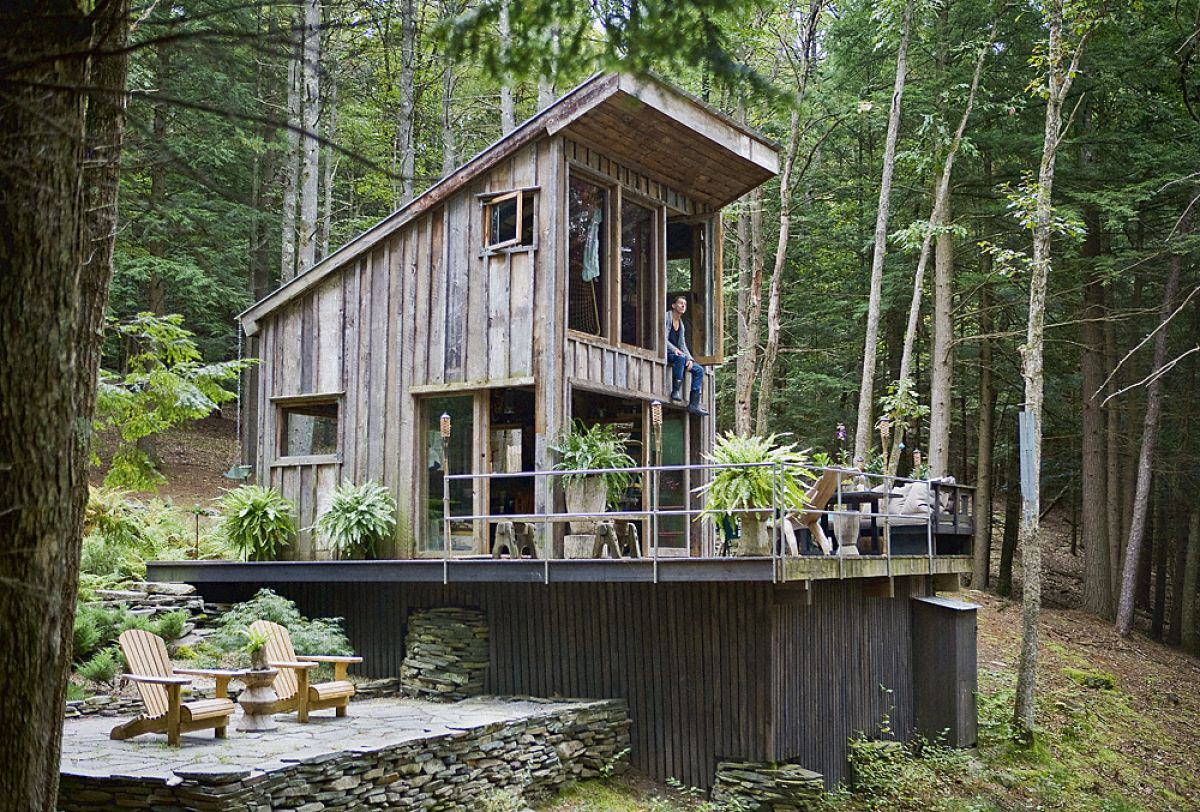 Photos Most Beautiful Handmade Houses Unusual Homes Cabins In The Woods Small House