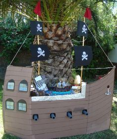 Make Your Own Cardboard Boat To Decorate Sonss