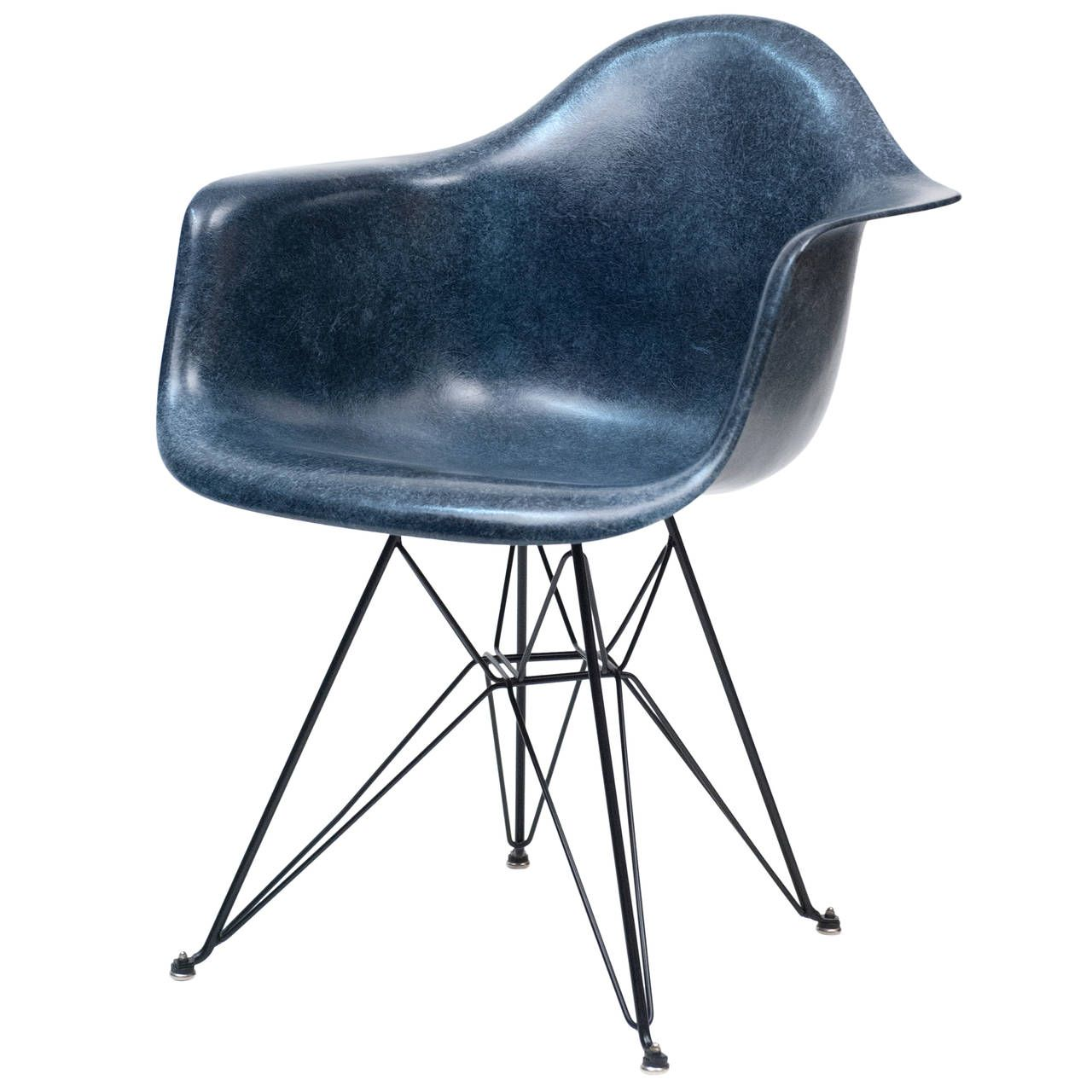 Eames Navy Blue Herman Miller Dar Shell Chair with Eiffel Tower BaseEames Navy Blue Herman Miller Dar Shell Chair with Eiffel Tower  . Eames Daw Chair Price. Home Design Ideas
