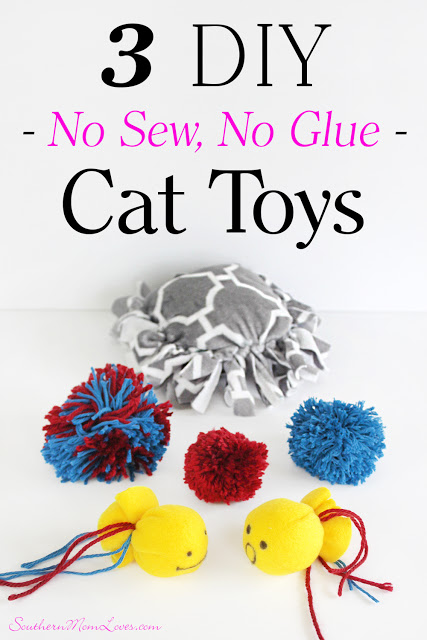 Southern Mom Loves: Treat Your Kitty with 3 Puurfect DIY No