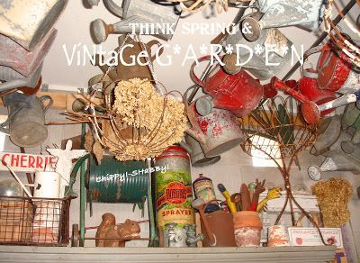 ViNtaGe Garden Collectibles... ChiPPy-SHaBBy