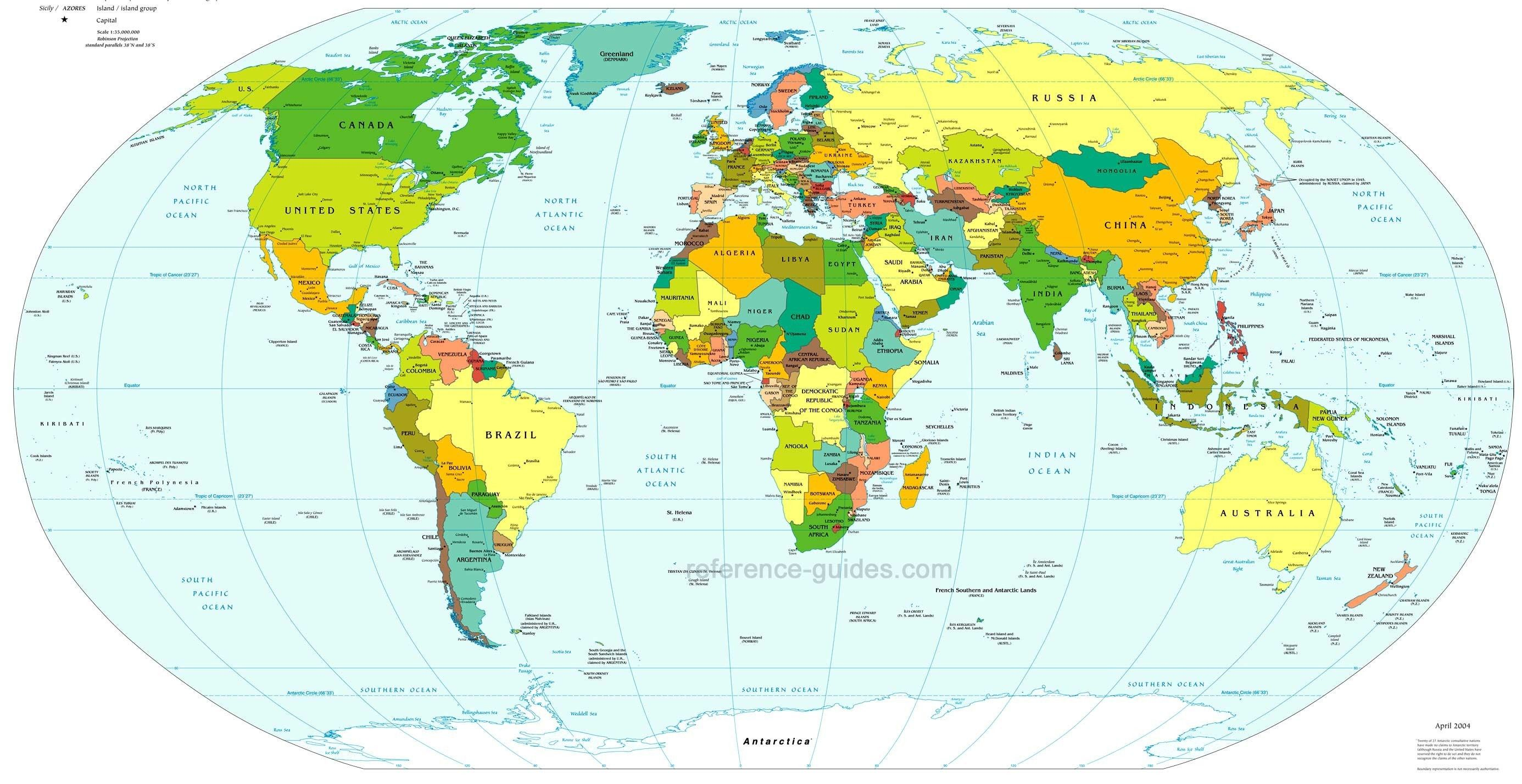 World Map With Longitude And Latitude Countries Updated