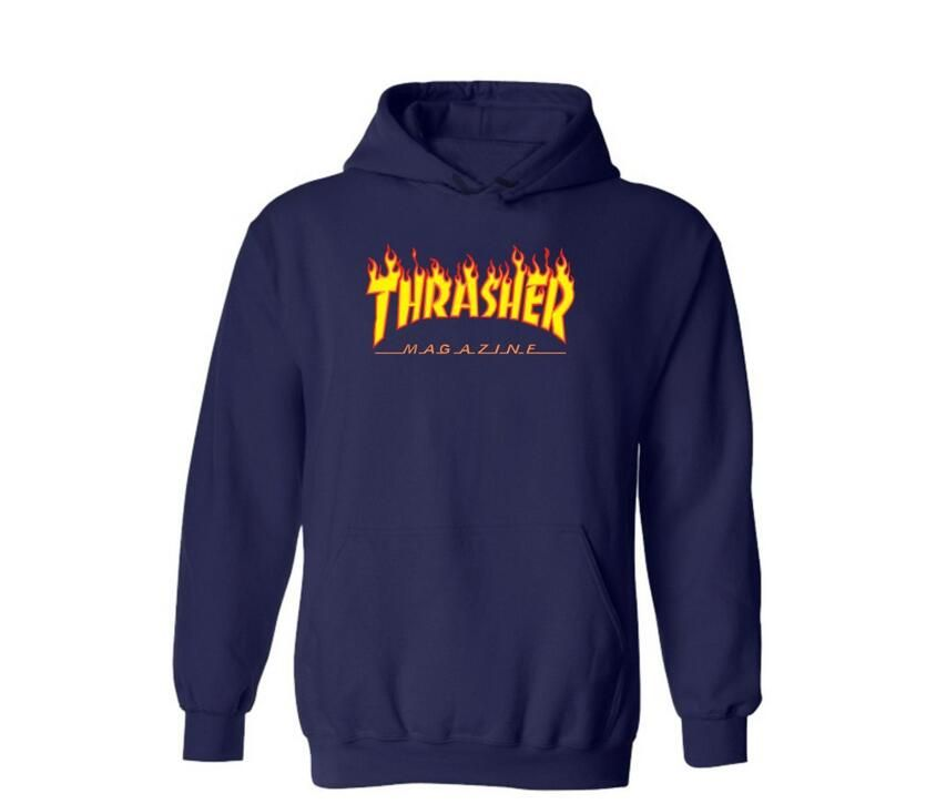 c8f92f3902e Find More Hoodies   Sweatshirts Information about Thrasher Hoodie 2016  Spring Skateboard Sweartshirt Pullover Men Hip Hop Cotton Loose Thrasher  Sweatshirts ...