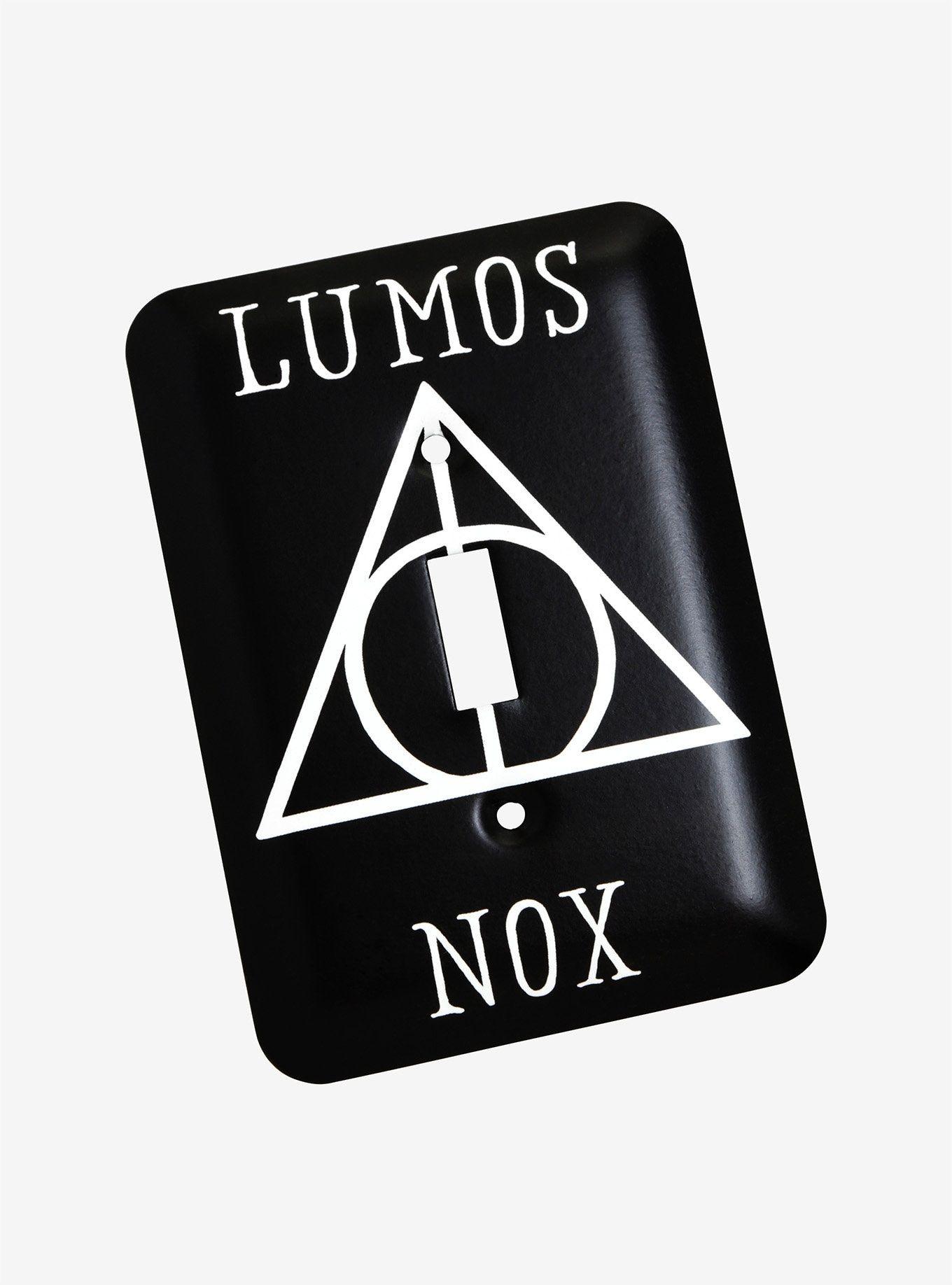 Harry Potter Lumos Nox Switchplate Harry Potter Lumos Lumos Nox Lumos