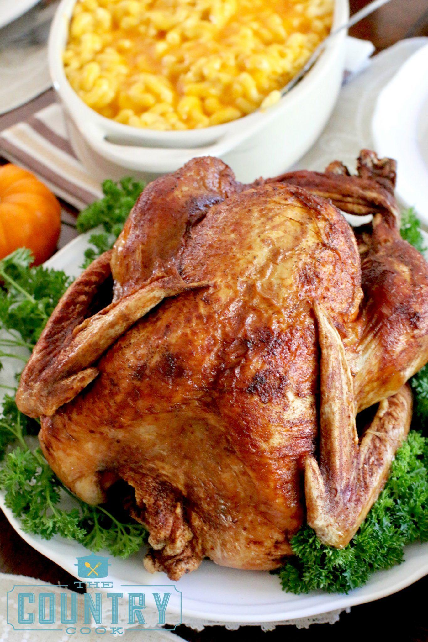 How to fry a turkey stepbystep recipe country