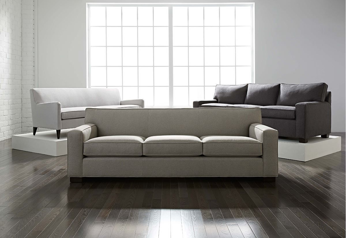 Mg Bw Our Jean Luc Sofa Is The Perfect Modern Shape With A Fair