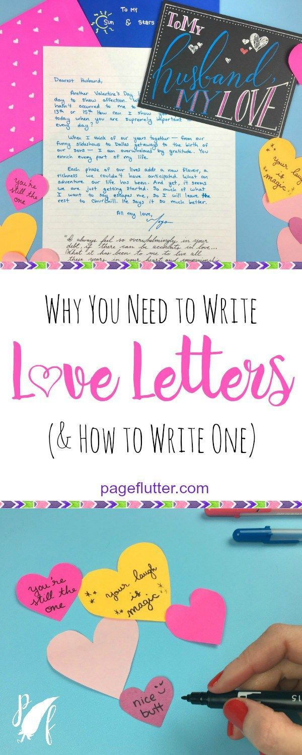 how to write a romantic love letter to husband