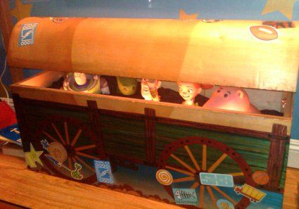 Christian S Cartoon Corner Toy Story 3 Diorama Toy Story Bedroom Toy Story Nursery Toy Story Crafts