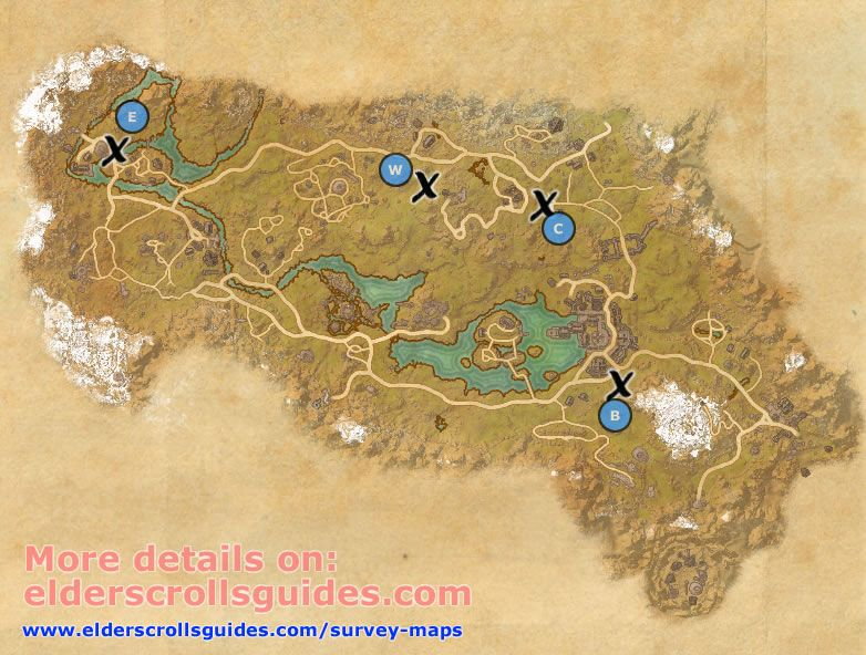 Rift Survey Report Map Elder Scrolls Online Guide Elder Scrolls
