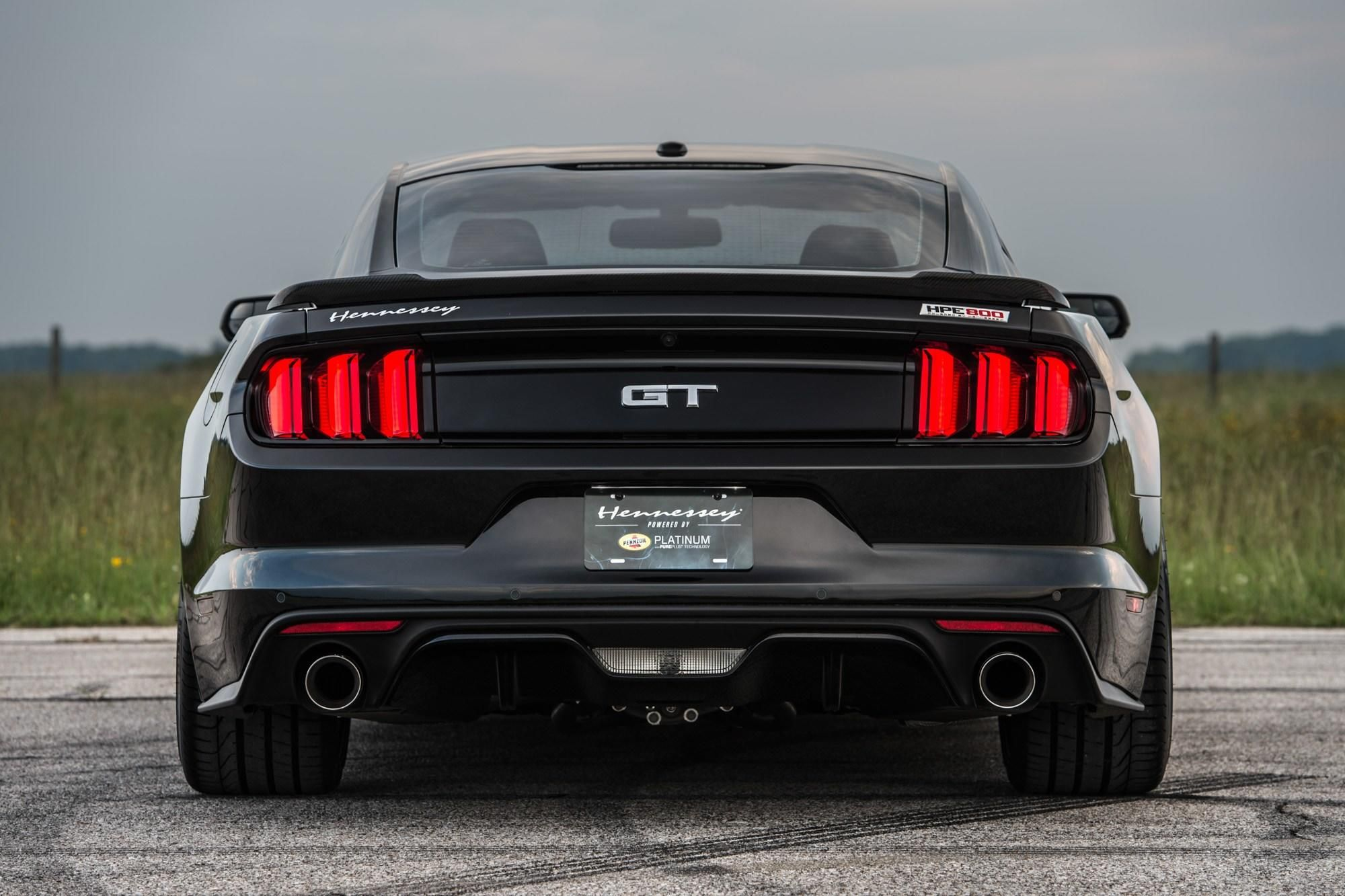 Hennessey Reveals 25th Anniversary Hpe800 Ford Mustang Ford