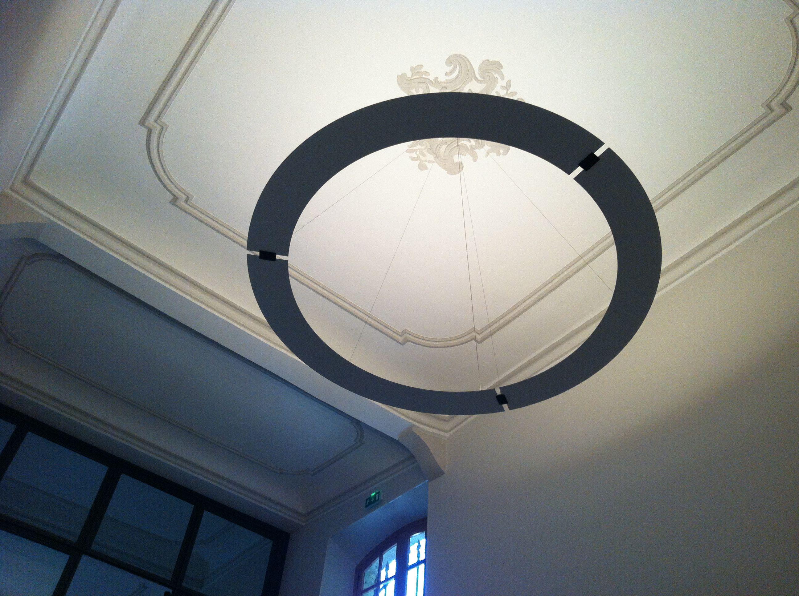 Aménagement office notarial luminaire plafonnier