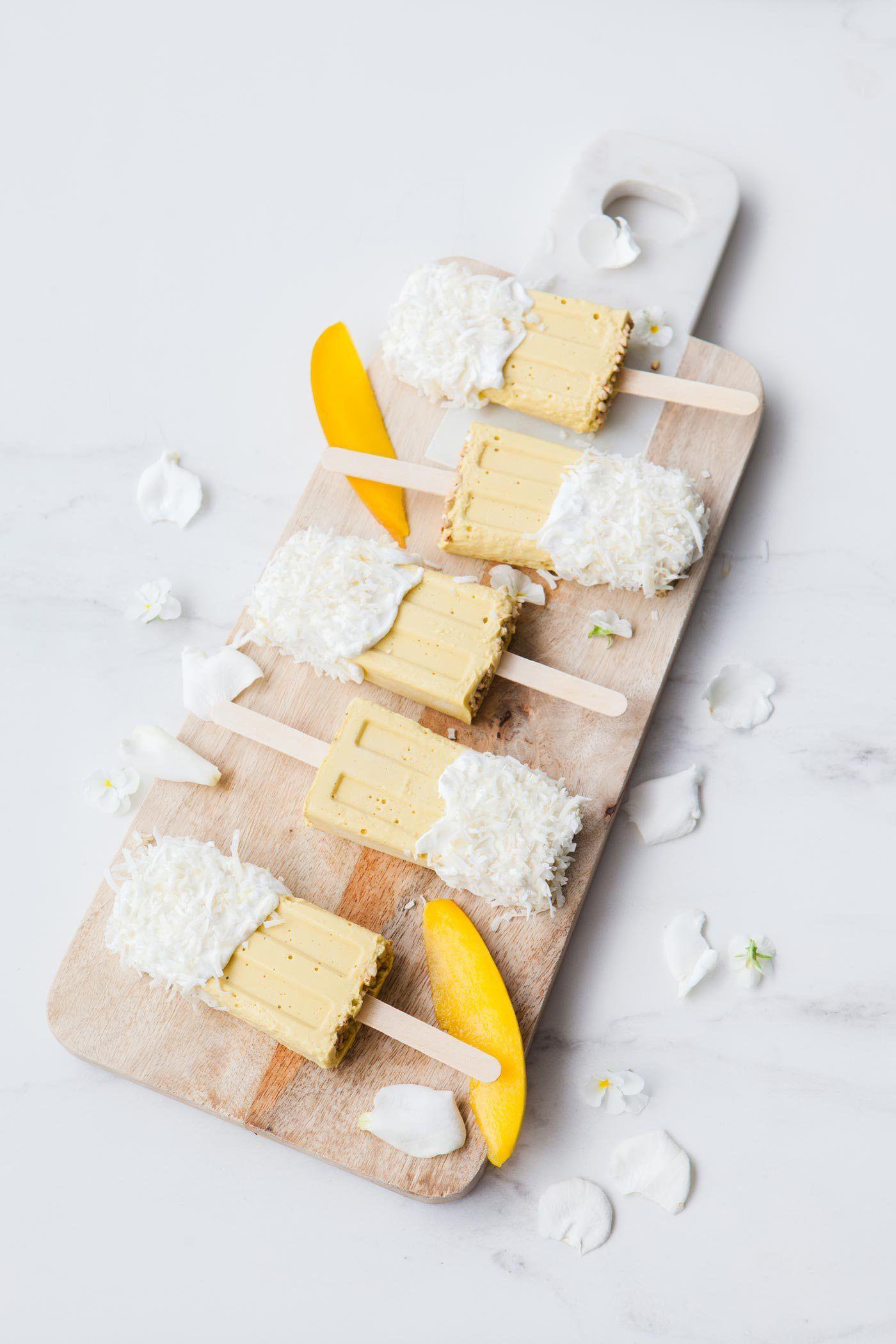 Mango Coconut Milk Popsicles   Ascension Kitchen   desserts ...