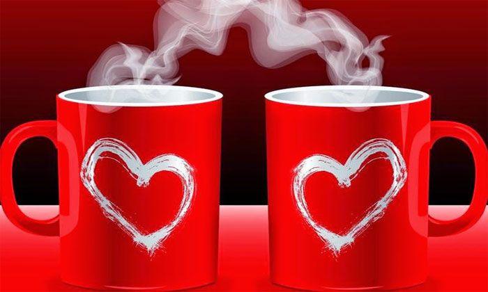 صور قلوب حب على اكواب الشاي عالم الصور Good Morning Love Good Morning Wallpaper Good Morning Images