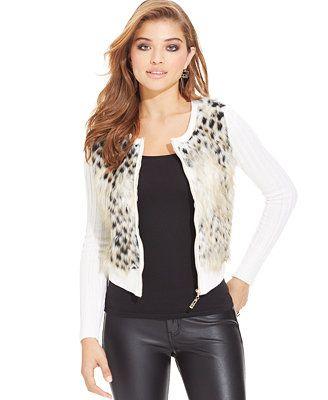 Faux-Fur Sweater