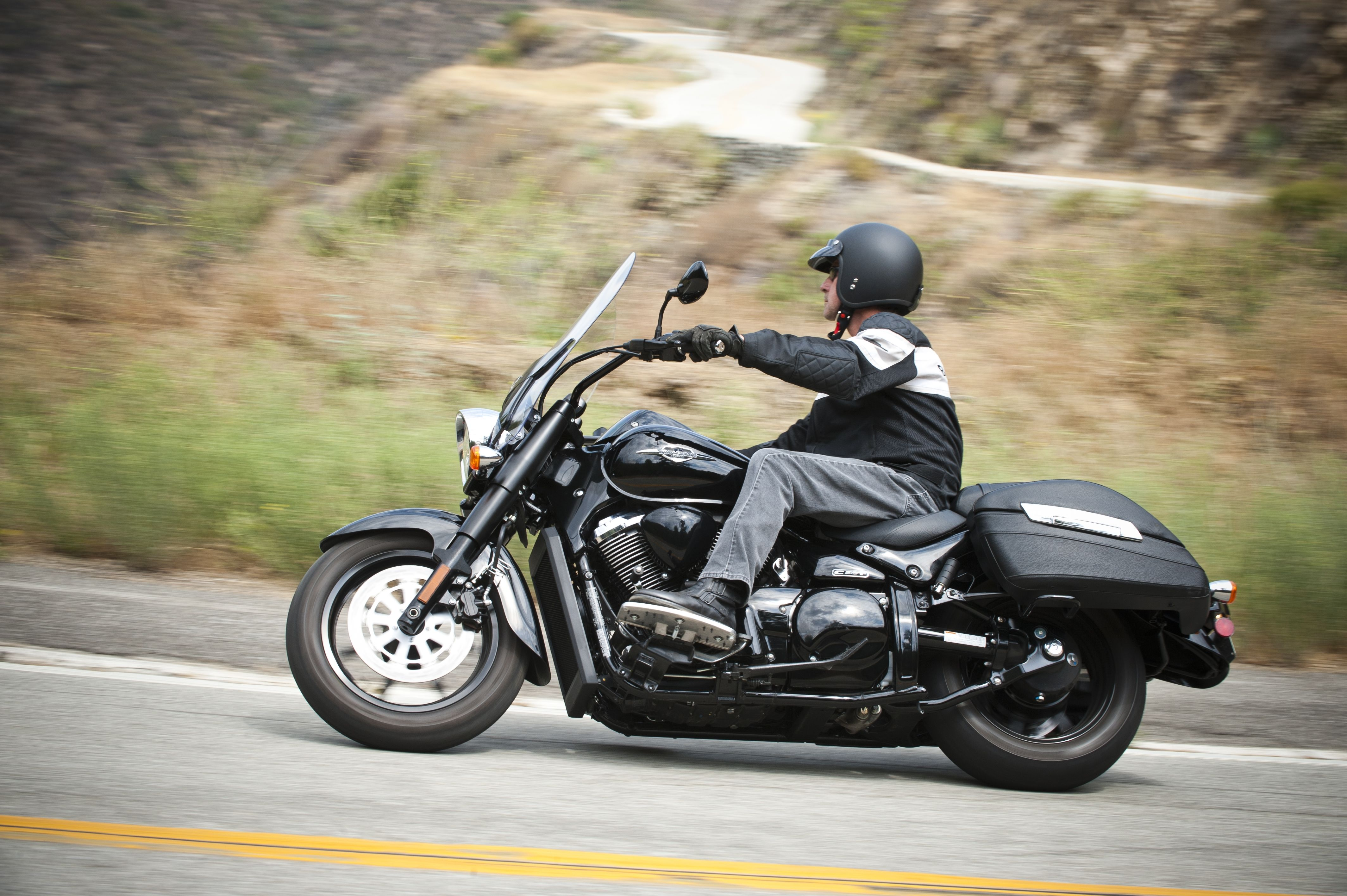 Don't just drive... go for a cruise on a Suzuki Boulevard
