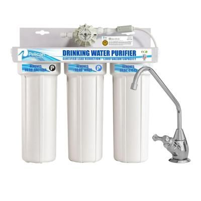 Pelican Water Drinking Water Purifier Dispenser Filtration System