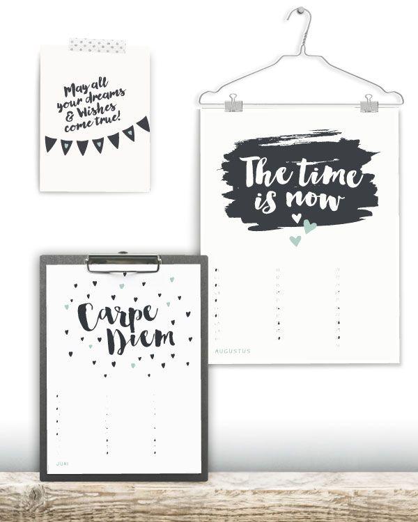 Populair Verjaardagskalender Quotes - Kalender maken bij | DIY - Deco #QK48
