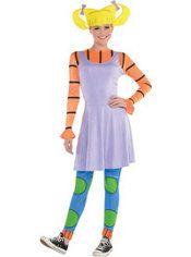 Adult Angelica Costume - Rugrats  e8a55823096dd