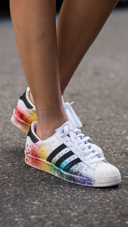 adidas superstar rainbow damen
