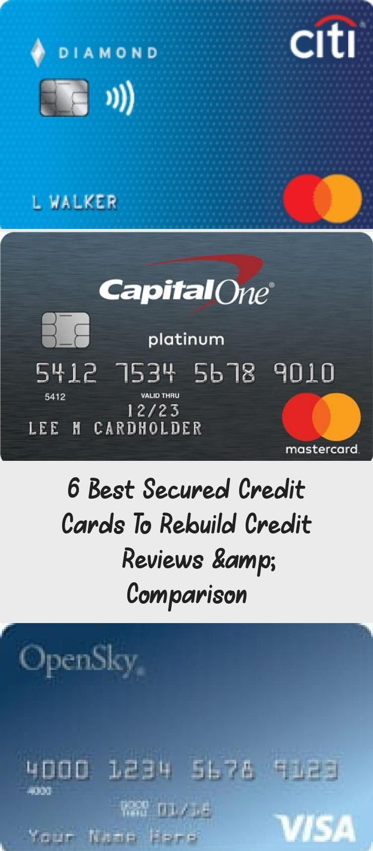 Secured Credit Card Creditcard 6 Best Secured Credit Cards To