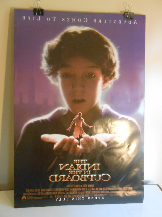 The Indian In The Cupboard 1995 Original 2 Sided Movie Etsy Indian In The Cupboard Movie Posters Movie Posters Vintage