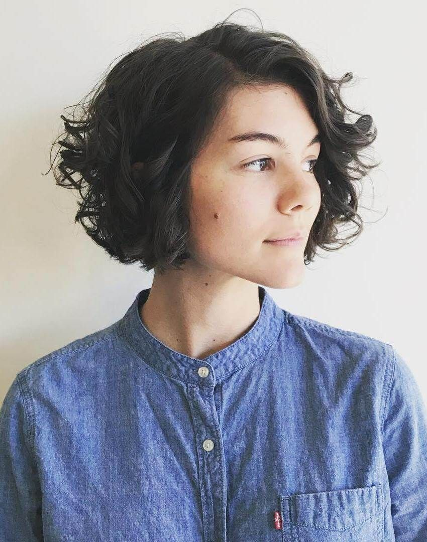 30 + Easy to Maintain Curly Bob Hairstyles | Curly bob hairstyles, Curly bob, Bob hairstyles