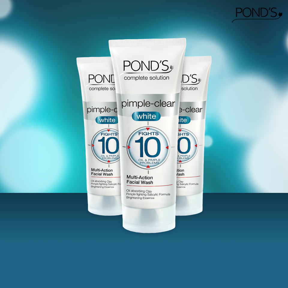 The Pond S Pimple Clear White Face Wash Fights 10 Oil And Pimple Problems Leaving Your Skin Fresh And Fair How To Clear Pimples Face Wash Ten Skin