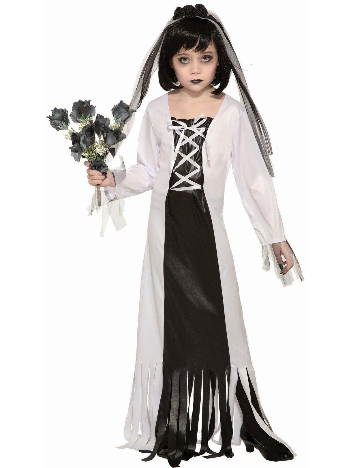 Cemetary Bride Costume Bride Costume Halloween Costumes For