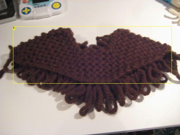 Knitted Beard | Knitted beard, Pattern, Santa beard