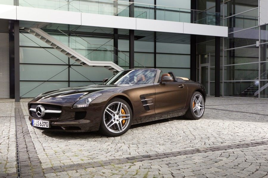 Mercedes Benz Sls Amg Sepang Brown With Images Mercedes