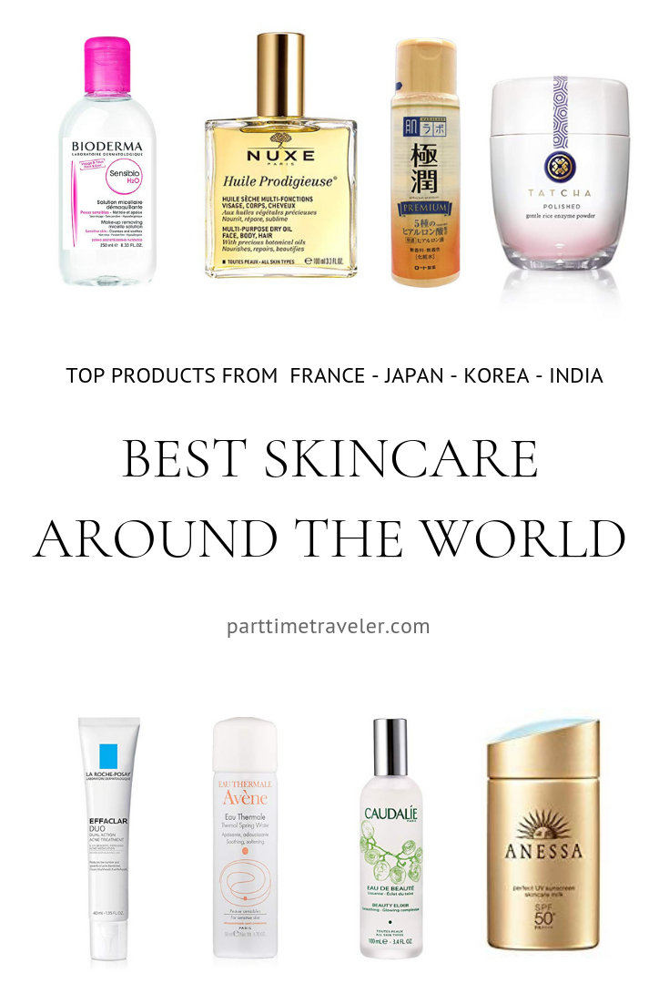 Best Skin Care Products From Around The World Including Japanese Skincare Korean Skincare French Skincare And B In 2020 French Skin Care Good Skin Japanese Skincare