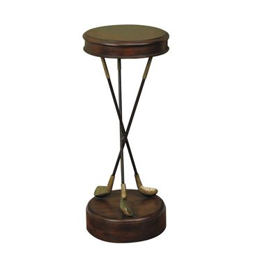 Side Table For Golf Themed Room   Could Make This With 3 Irons (clubs)