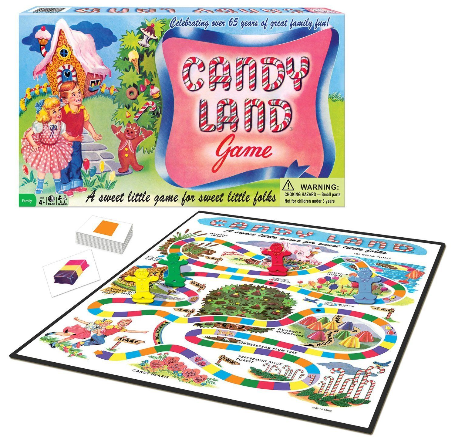 Candy Land Board GameVintage Reproduction Anniversary