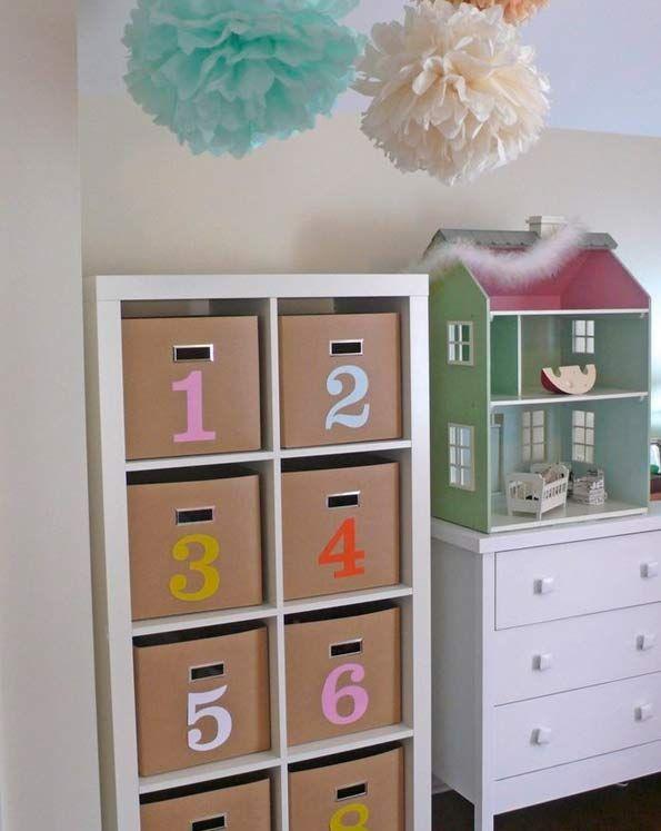 Ideas de decoraci n con el modelo expedit de ikea - Ikea muebles bebe ...