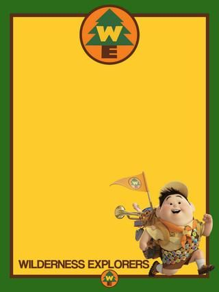 Journal Card - Wilderness Explorers - Russell - Animal Kingdom - 3x4 photo pz_DIS_752_AK_WildernessExplorers_Russell_3x4.jpg