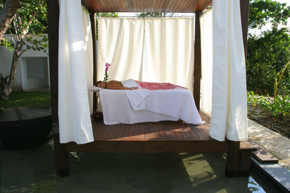 Imagine a massage with the breezes coming off the ocean in the Dominican Republic!