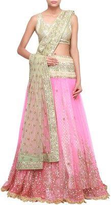 Kalki Self Design Women's Lehenga Choli - Buy Pink Kalki Self Design Women's Lehenga Choli Online at Best Prices in India | Flipkart.com
