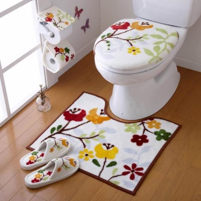 北欧風がかわいい オシャレなトイレマットカタログ トイレマット