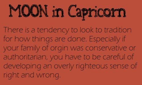 Fire Earth Water Wind Capricorn Moon Capricorn Moon Sign My Moon Sign