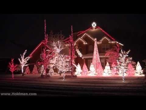 Holdman Christmas Lights 2010 - Complete Show | *~Christmas Delights ...