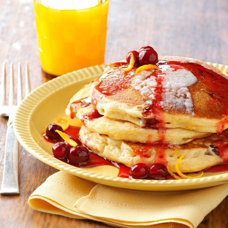Cranberry Orange Pancakes Recipe Orange Pancakes Recipes Favorite Recipes Orange Pancakes